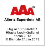 Allertz Exportlots AB logo