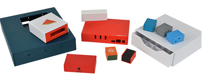 Picture of multiple customized enclosure